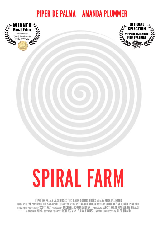 spiralfarm poster with laurels
